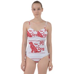 Year Of The Dog   Chinese New Year Sweetheart Tankini Set