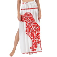 Year Of The Dog   Chinese New Year Maxi Chiffon Tie Up Sarong