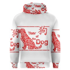 Year Of The Dog   Chinese New Year Men s Overhead Hoodie