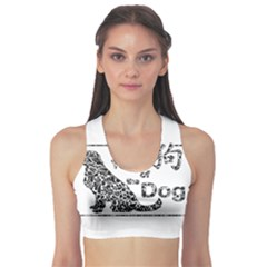 Year Of The Dog   Chinese New Year Sports Bra