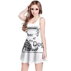 Year Of The Dog   Chinese New Year Reversible Sleeveless Dress