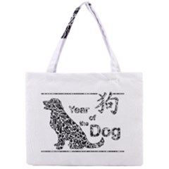 Year Of The Dog   Chinese New Year Mini Tote Bag