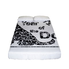 Year Of The Dog   Chinese New Year Fitted Sheet (full/ Double Size)