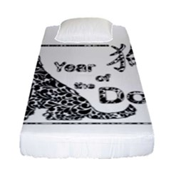 Year Of The Dog   Chinese New Year Fitted Sheet (single Size)