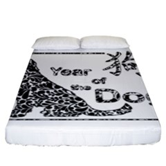 Year Of The Dog   Chinese New Year Fitted Sheet (king Size)