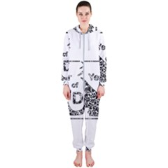 Year Of The Dog   Chinese New Year Hooded Jumpsuit (ladies)