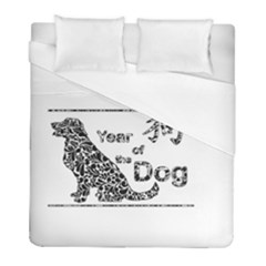 Year Of The Dog   Chinese New Year Duvet Cover (full/ Double Size)