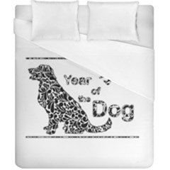 Year Of The Dog   Chinese New Year Duvet Cover (california King Size)