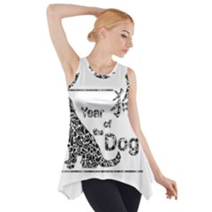 Year Of The Dog   Chinese New Year Side Drop Tank Tunic