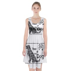 Year Of The Dog   Chinese New Year Racerback Midi Dress