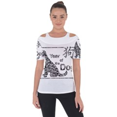 Year Of The Dog   Chinese New Year Short Sleeve Top
