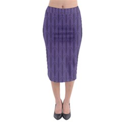 Color Of The Year 2018   Ultraviolet   Art Deco Black Edition Midi Pencil Skirt