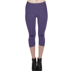 Color Of The Year 2018   Ultraviolet   Art Deco Black Edition Capri Leggings