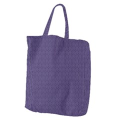 Color Of The Year 2018   Ultraviolet   Art Deco Black Edition Giant Grocery Zipper Tote