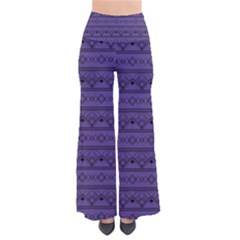 Color Of The Year 2018   Ultraviolet   Art Deco Black Edition Pants