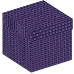 Color Of The Year 2018   Ultraviolet   Art Deco Black Edition Storage Stool 12