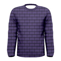 Color Of The Year 2018   Ultraviolet   Art Deco Black Edition Men s Long Sleeve Tee