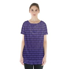 Color Of The Year 2018   Ultraviolet   Art Deco Black Edition Skirt Hem Sports Top