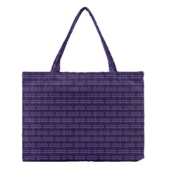 Color Of The Year 2018   Ultraviolet   Art Deco Black Edition Medium Tote Bag