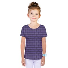Color Of The Year 2018   Ultraviolet   Art Deco Black Edition Kids  One Piece Tee