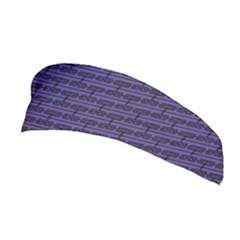 Color Of The Year 2018   Ultraviolet   Art Deco Black Edition Stretchable Headband