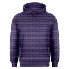 Color Of The Year 2018   Ultraviolet   Art Deco Black Edition Men s Overhead Hoodie
