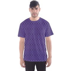 Color Of The Year 2018   Ultraviolet   Art Deco Black Edition 10 Men s Sports Mesh Tee