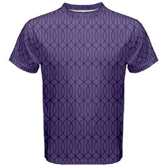 Color Of The Year 2018   Ultraviolet   Art Deco Black Edition 10 Men s Cotton Tee