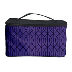 Color Of The Year 2018   Ultraviolet   Art Deco Black Edition 10 Cosmetic Storage Case