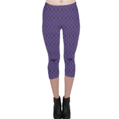 Color Of The Year 2018   Ultraviolet   Art Deco Black Edition 10 Capri Leggings