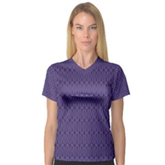 Color Of The Year 2018   Ultraviolet   Art Deco Black Edition 10 V Neck Sport Mesh Tee