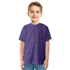 Color Of The Year 2018   Ultraviolet   Art Deco Black Edition 10 Kids  Sport Mesh Tee