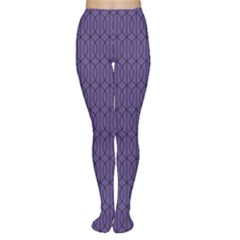 Color Of The Year 2018   Ultraviolet   Art Deco Black Edition 10 Women s Tights