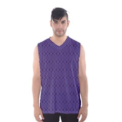 Color Of The Year 2018   Ultraviolet   Art Deco Black Edition 10 Men s Basketball Tank Top