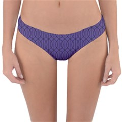 Color Of The Year 2018   Ultraviolet   Art Deco Black Edition 10 Reversible Hipster Bikini Bottoms