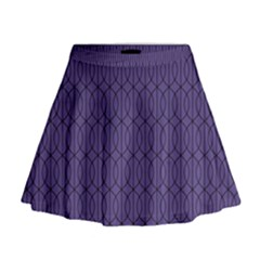 Color Of The Year 2018   Ultraviolet   Art Deco Black Edition 10 Mini Flare Skirt