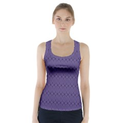 Color Of The Year 2018   Ultraviolet   Art Deco Black Edition 10 Racer Back Sports Top