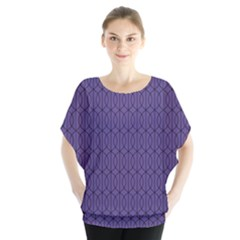 Color Of The Year 2018   Ultraviolet   Art Deco Black Edition 10 Blouse