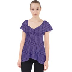 Color Of The Year 2018   Ultraviolet   Art Deco Black Edition 10 Lace Front Dolly Top