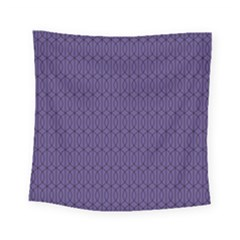 Color Of The Year 2018   Ultraviolet   Art Deco Black Edition 10 Square Tapestry (small)