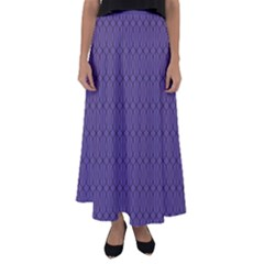 Color Of The Year 2018   Ultraviolet   Art Deco Black Edition 10 Flared Maxi Skirt