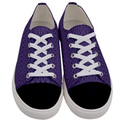 Color Of The Year 2018   Ultraviolet   Art Deco Black Edition 10 Women s Low Top Canvas Sneakers