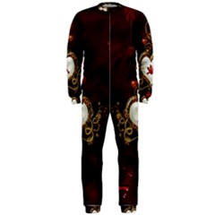 Wonderful Hearts With Dove Onepiece Jumpsuit (men)