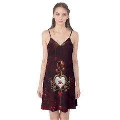 Wonderful Hearts With Dove Camis Nightgown