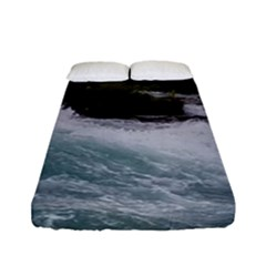 Sightseeing At Niagara Falls Fitted Sheet (full/ Double Size)