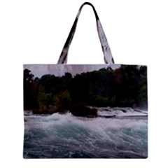 Sightseeing At Niagara Falls Medium Tote Bag