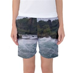 Sightseeing At Niagara Falls Women s Basketball Shorts