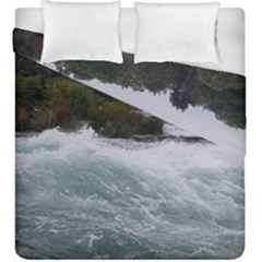 Sightseeing At Niagara Falls Duvet Cover Double Side (king Size)