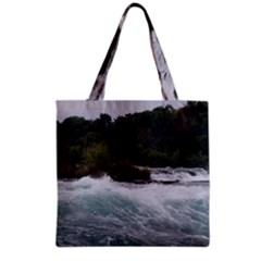 Sightseeing At Niagara Falls Grocery Tote Bag