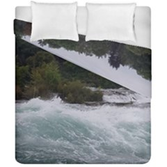 Sightseeing At Niagara Falls Duvet Cover Double Side (california King Size)